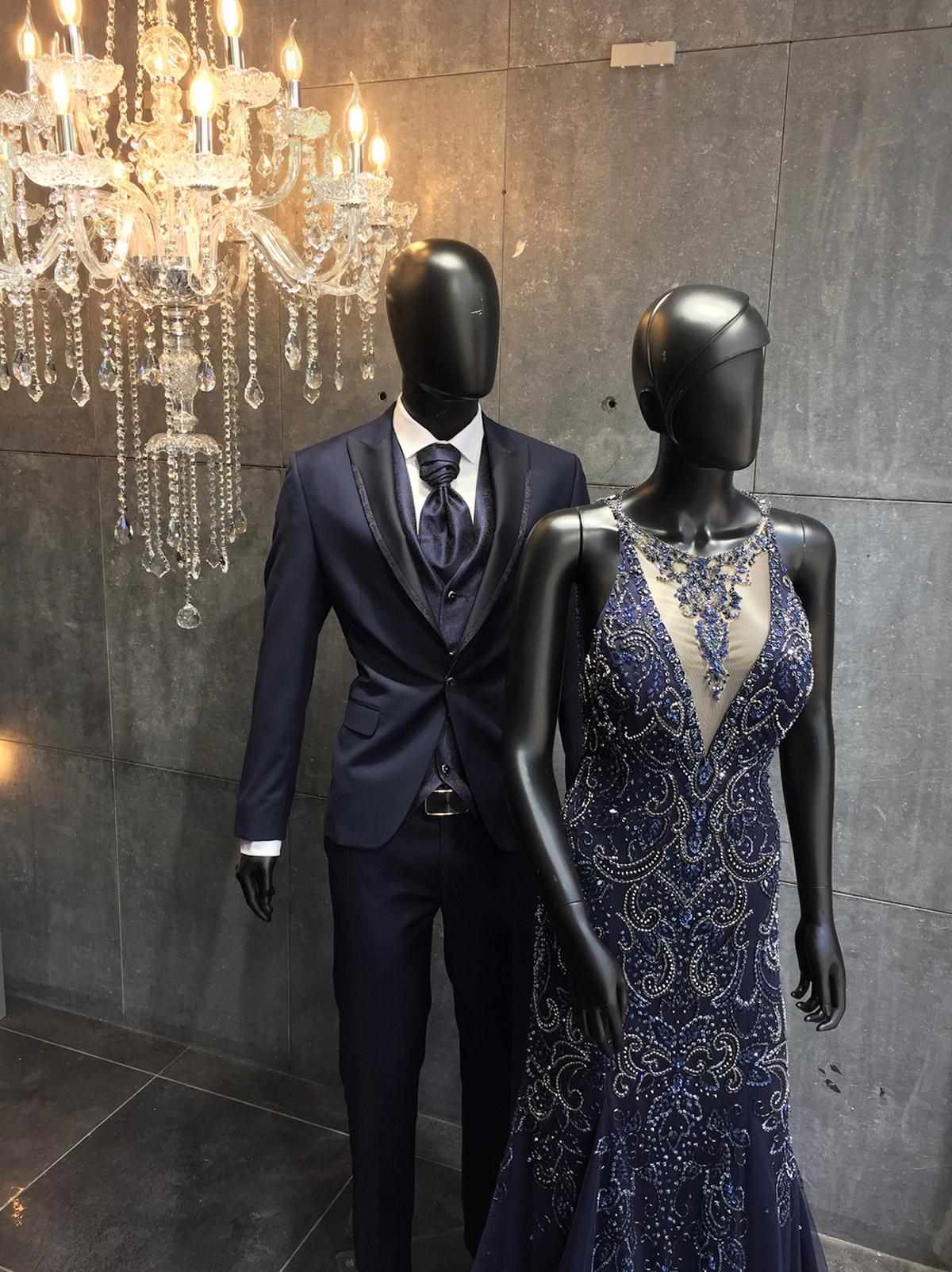 Le couple en cérémonie
