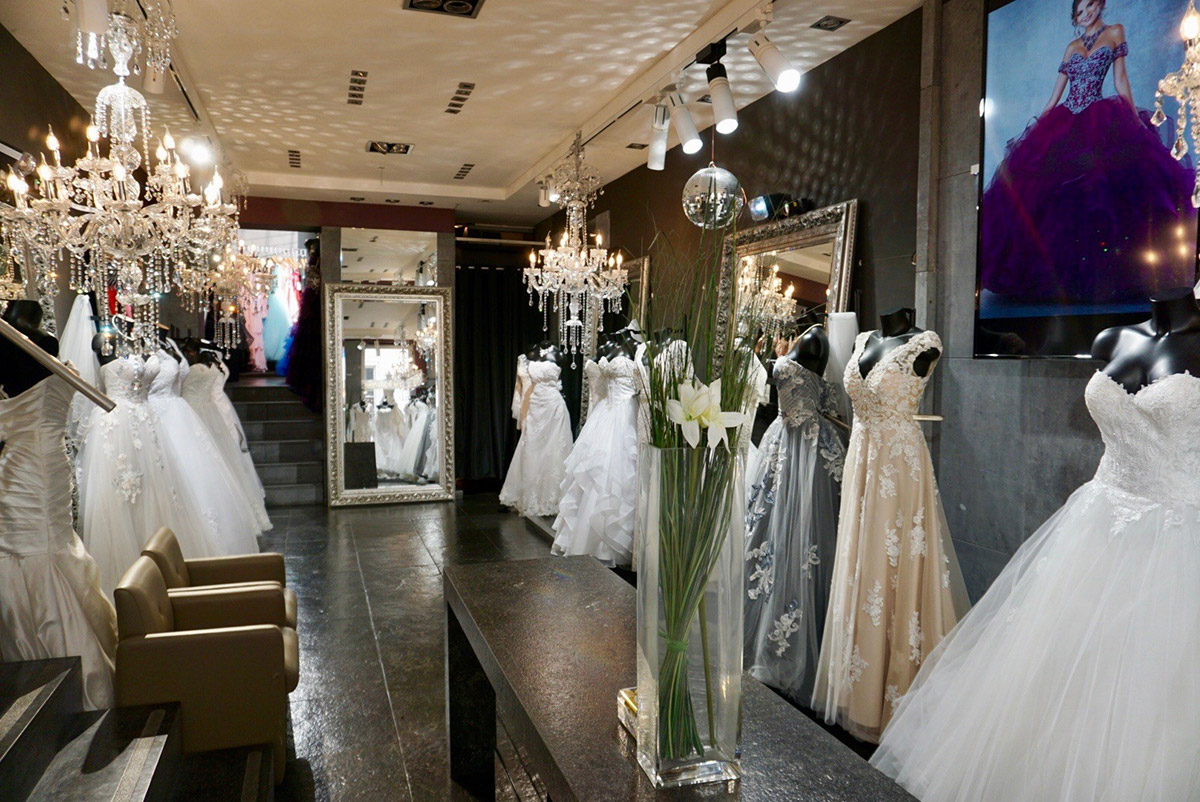 magasin de robes de mariée