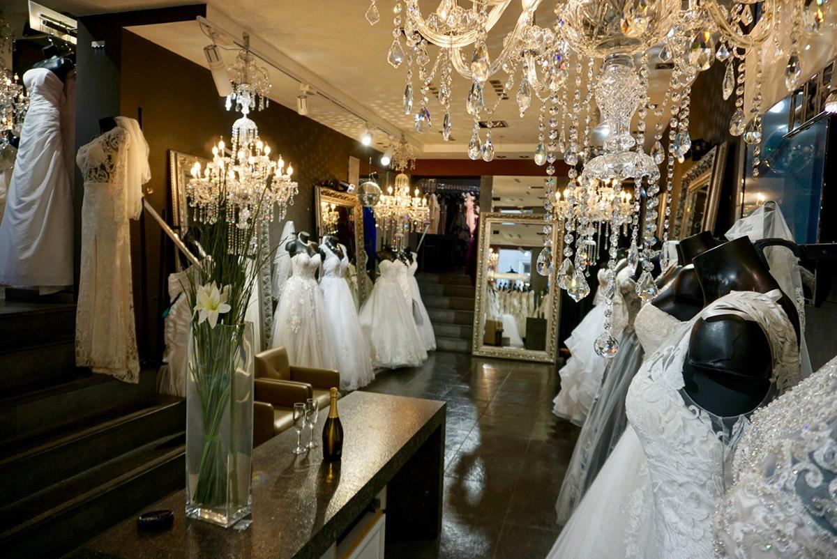 robe de mariée étalage