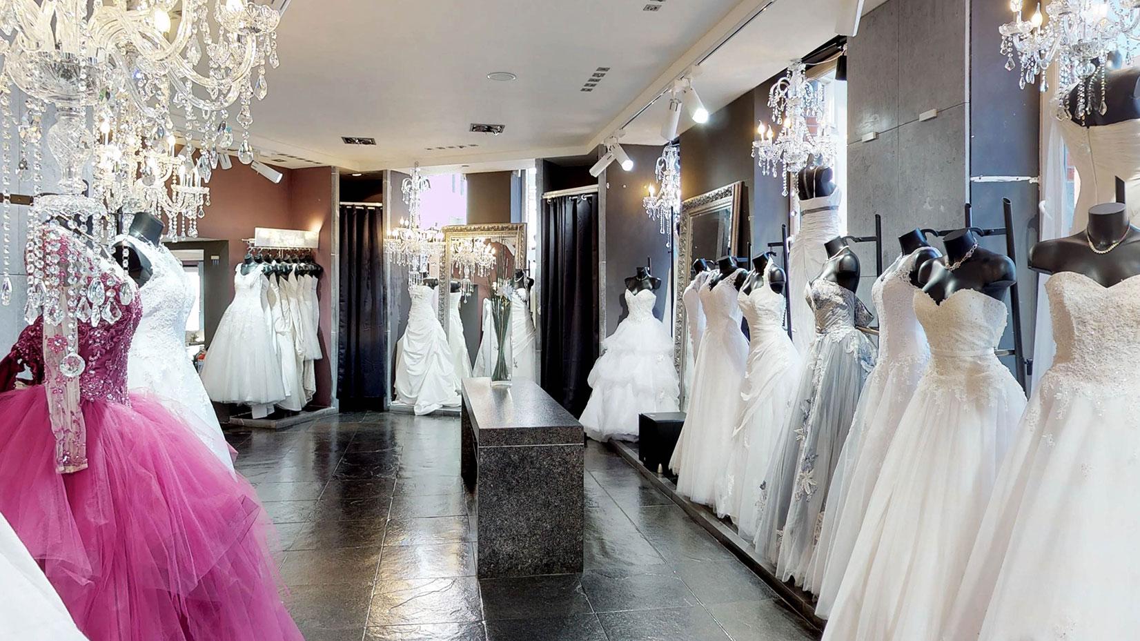 Le budget d'une robe de mariée