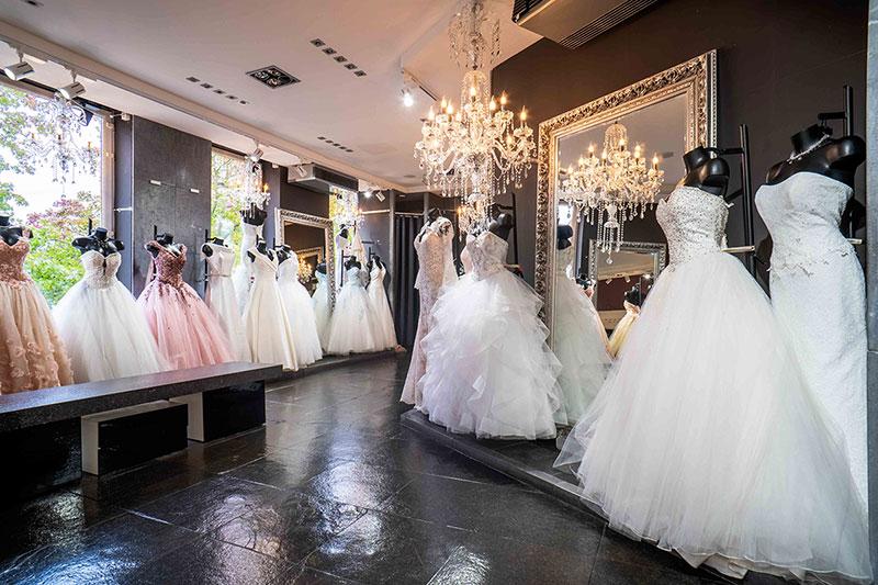 les différentes Couleurs de robe de mariée