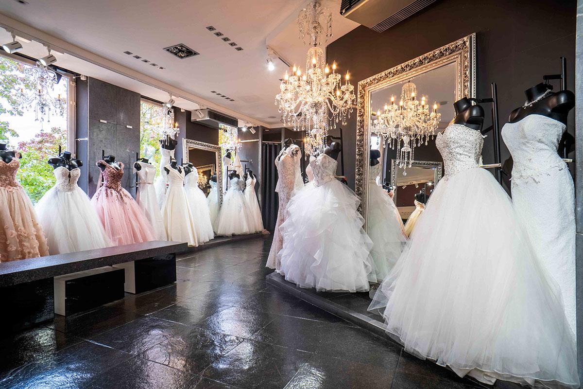 robe de mariée blanc cassé